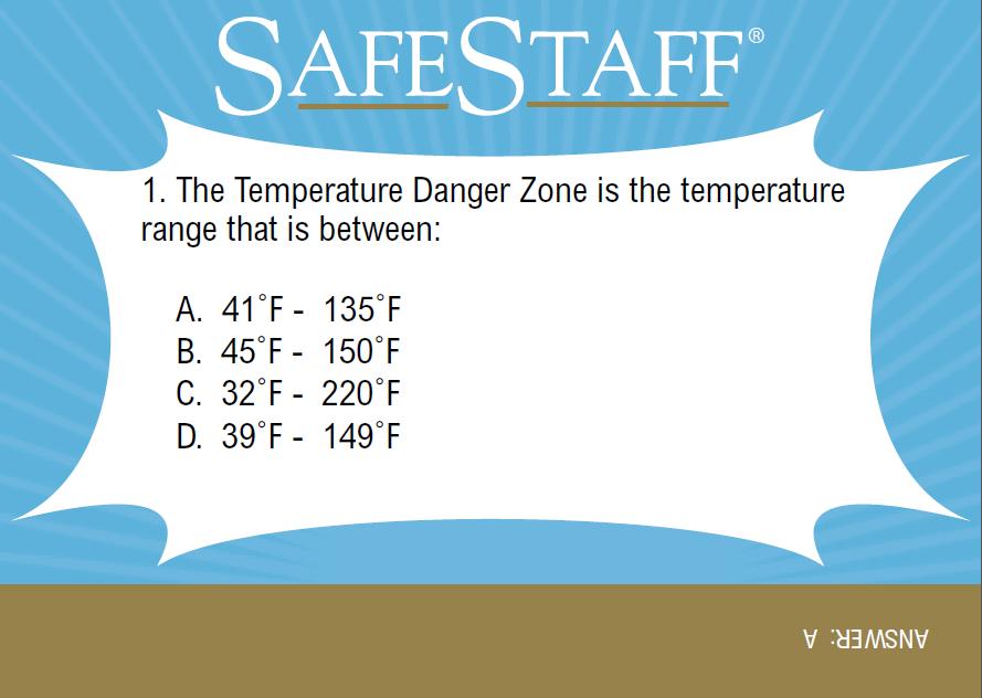servsafe manager training study flashcards certification safety seminar chart flashcard