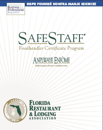 Employee Food Handler Guide - Creole, by SafeStaff