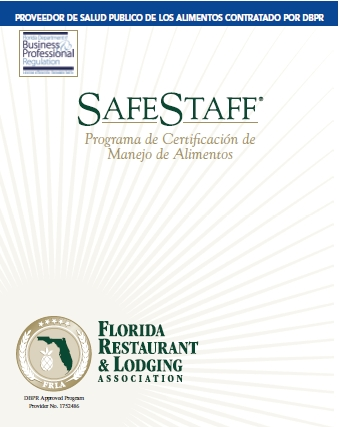 Employee Food Handler Guide - Spanish, by SafeStaff