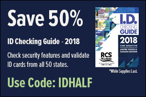 50% off ID Checking Guides, Code IDHALF